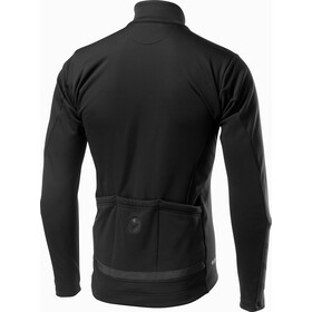 Castelli Raddoppia 2 Chaqueta Hombre, light black/refelx